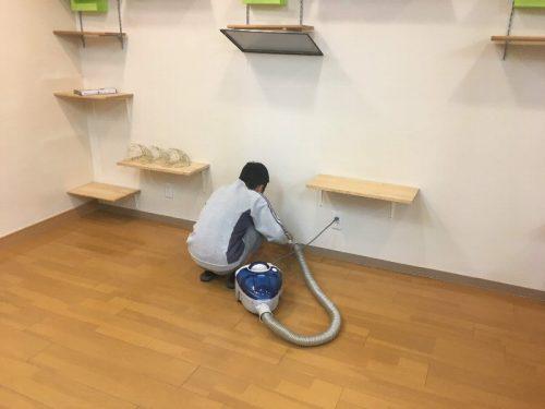 接骨院の掃除