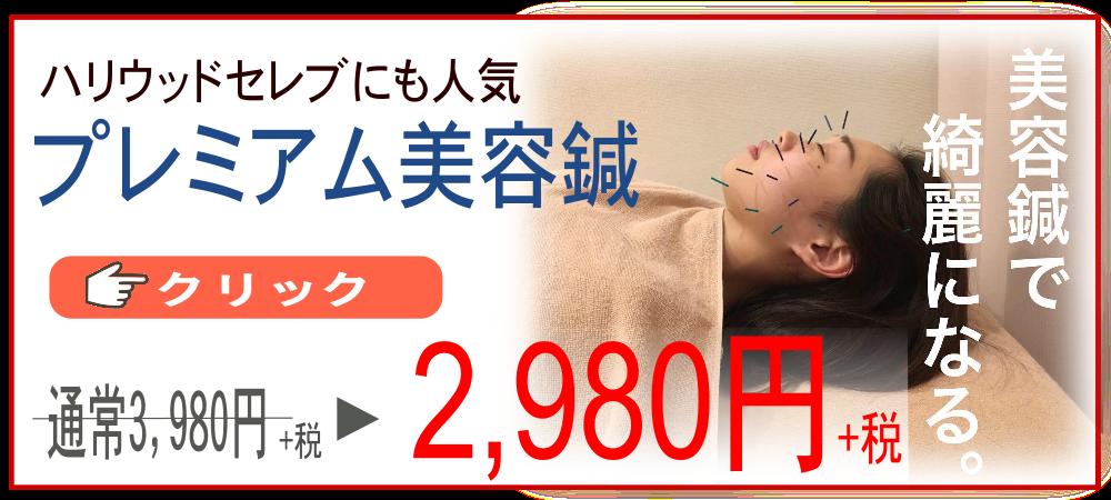 美容鍼灸キャンペーン